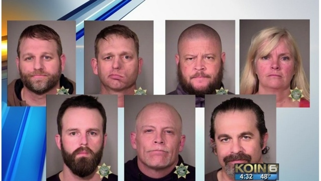 Bundy brothers, five others booked into Multnomah County Jail