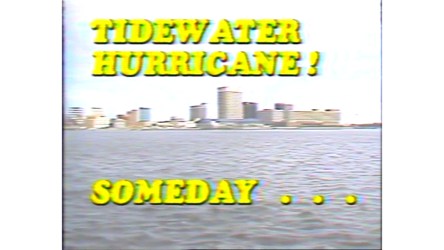 WAVY Archive: 1983 Hurricane Special with Don Slater
