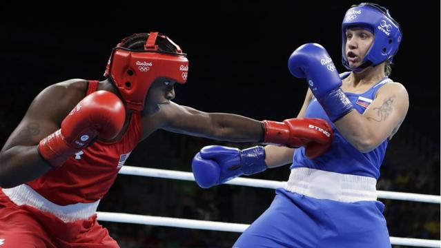 Claressa Shields clinches at least bronze, moves on to semifinals