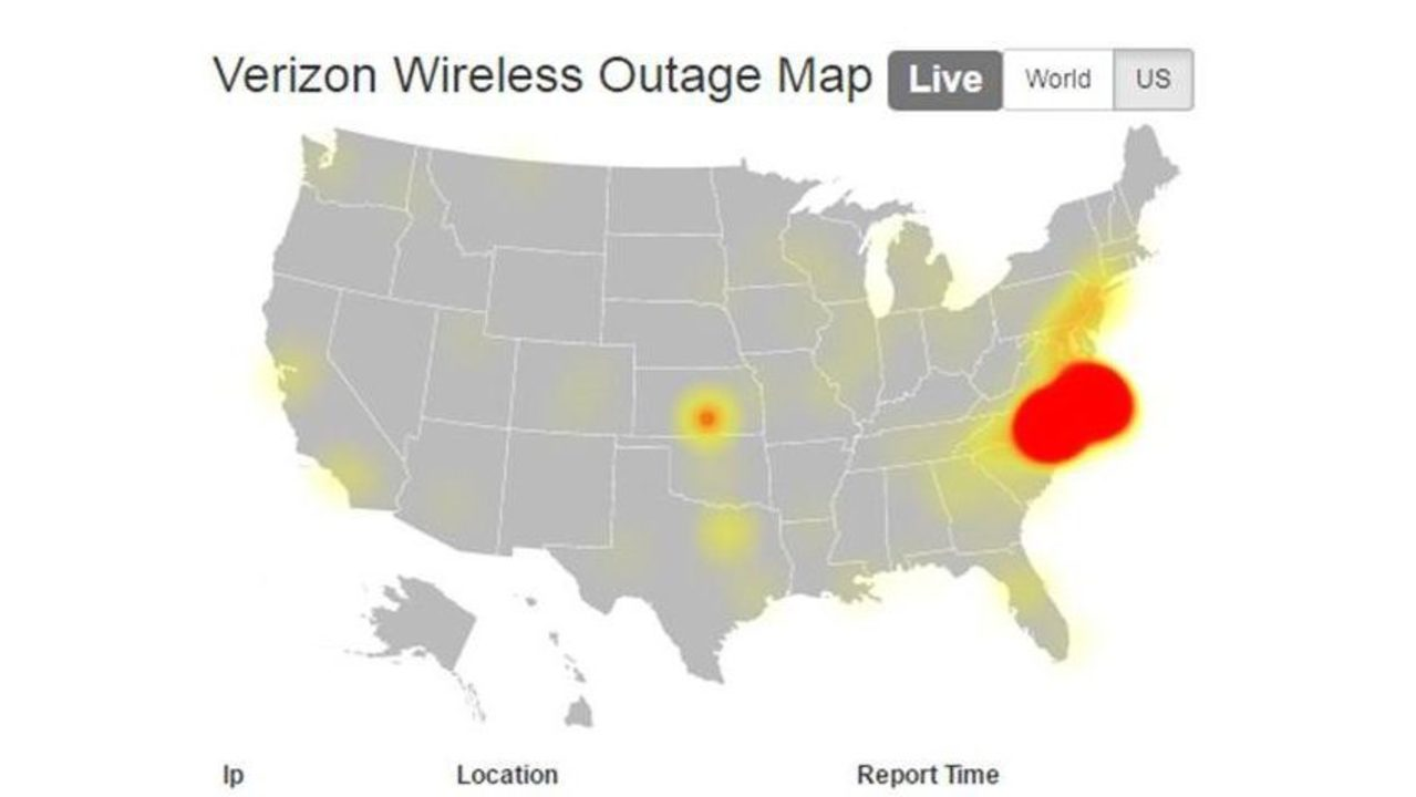 Verizon Power Outage Map.Verizon Fios Outage Map National Parks Map