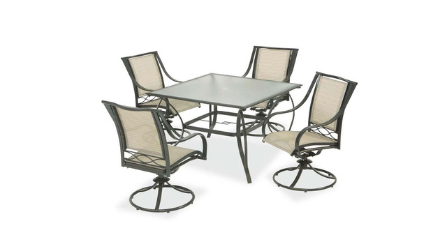 Swivel patio chairs sold at Home Depot recalled for fall hazard - WAVY
