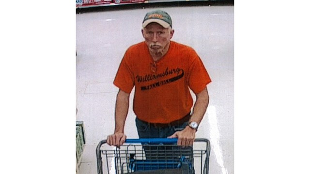 Sheriff's office: Man used old receipts to return items, get cash from Wal-Mart