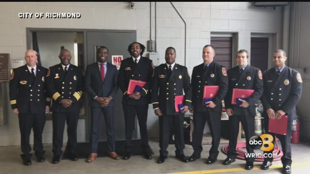 Firefighters awarded highest honor for 2016 Greyhound shooting response