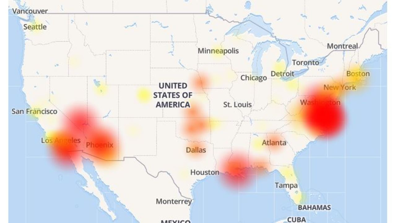 Cox Power Outage Map.Report Cox Communications Customers Experiencing Outage
