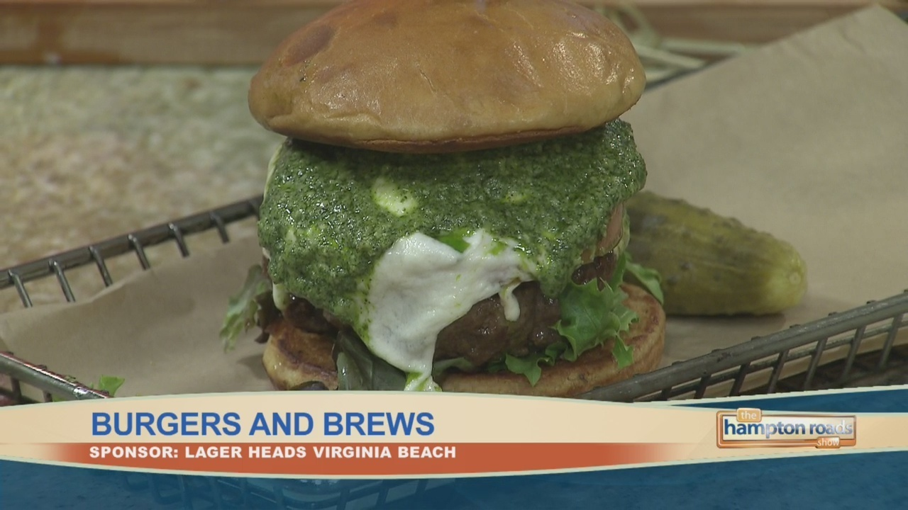In The Kitchen: The Pungo Burger and Brew - WAVY