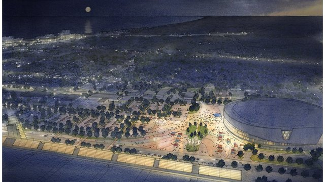 Only On 10 First Look Of Proposed Virginia Beach Arena Wavy