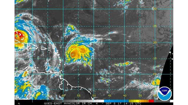 Jose now an 'extremely dangerous' Category 4 hurricane