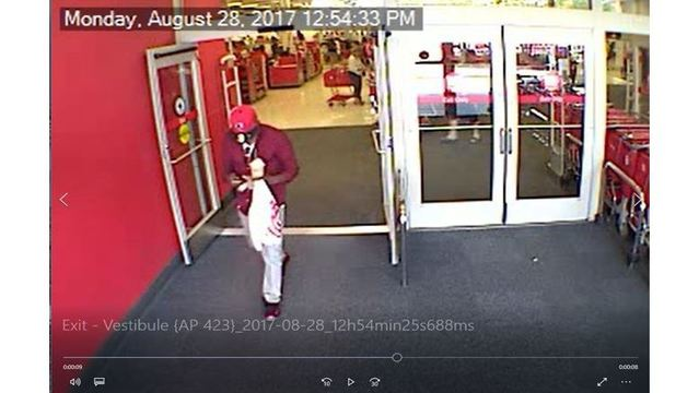 Police searching for suspect using fraudulent credit card