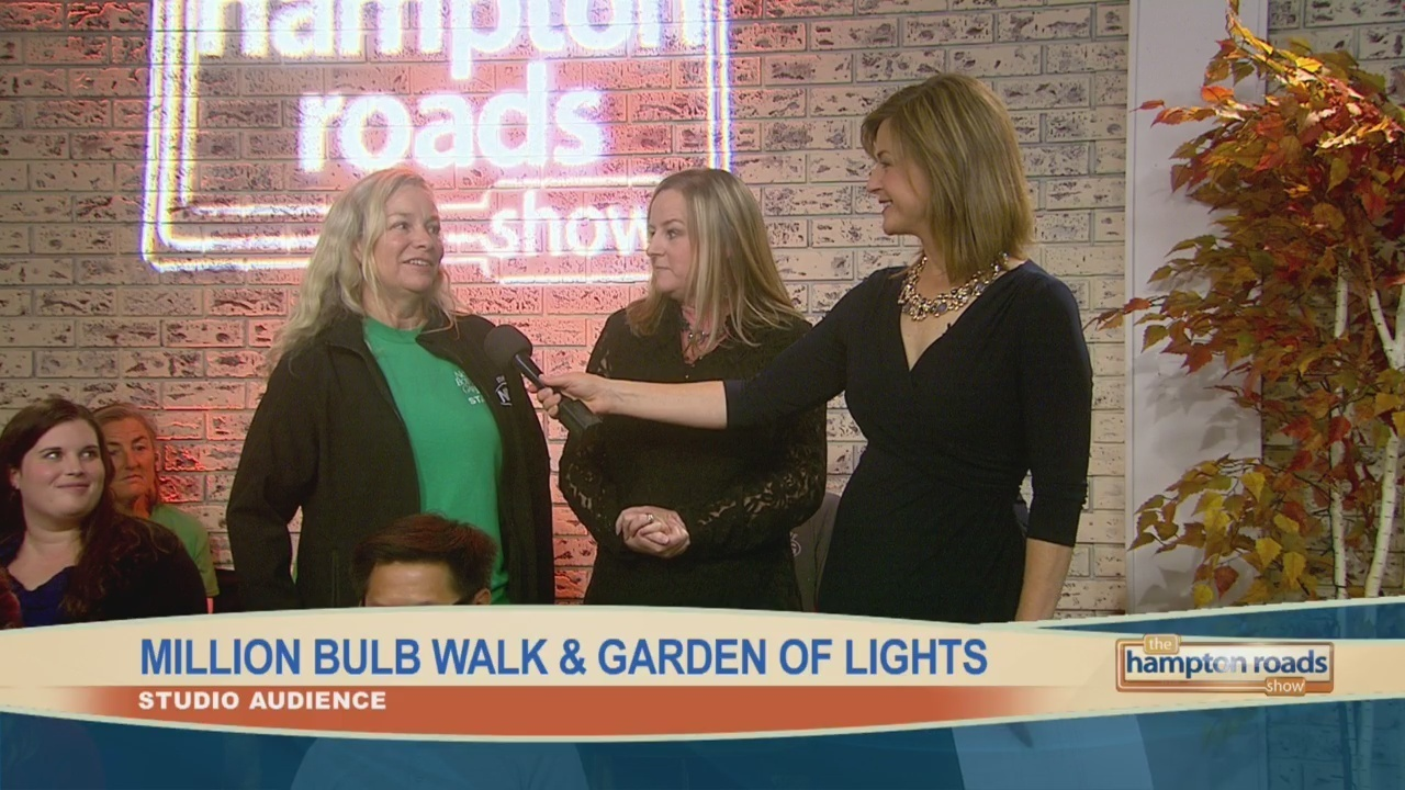 In the Audience: Million Bulb Walk