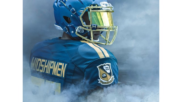 96c35a783 Navy unveils uniforms honoring the Blue Angels for Army-Navy game