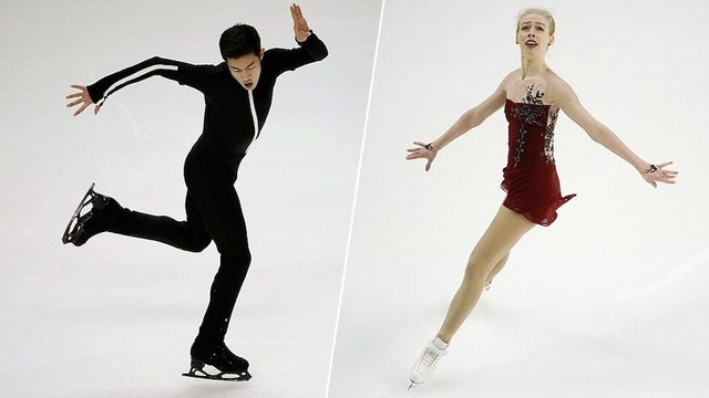 Who will compete for the U.S. in the figure skating team event?