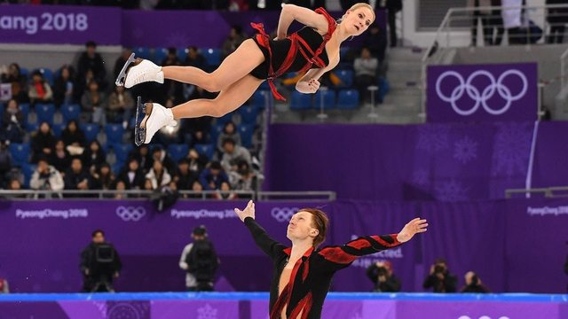 russian skaters at olympics