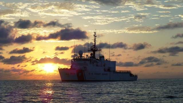 Coast Guard cutter returns to Portsmouth after seizing $252 million in cocaine