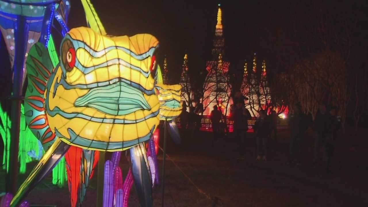 Lantern Asia returns to Norfolk Botanical Garden