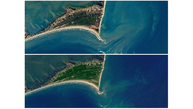 North Carolina's Shelly Island has disappeared, NASA images show