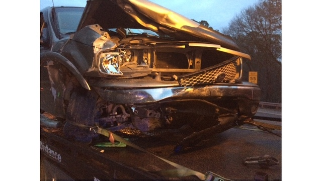 1 person arrested, 2 in hospital following DUI crash on I-264