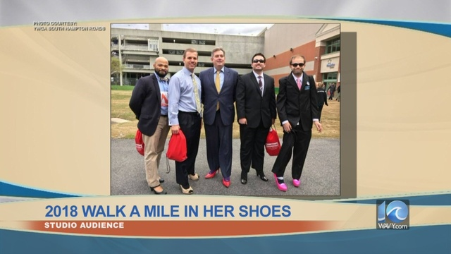 Audience: 2018 YWCA Walk A Mile In Her Shoes