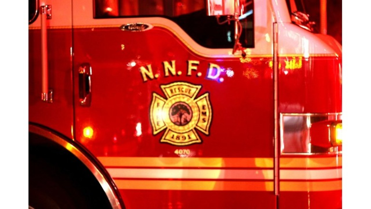 two hospitalized after newport news apartment fire