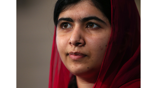 Tearful Malala on first trip to Pakistan since attack