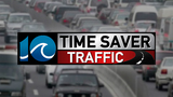 Traffic stopped at Centerville Turnpike Bridge due to fallen traffic signal