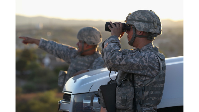 Trump to send National Guard troops to Mexico border