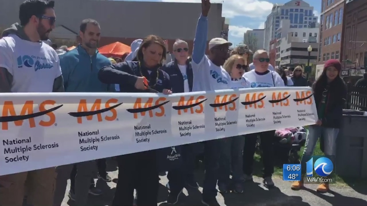 wavy warriors lead walk ms in norfolk