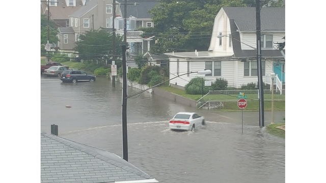 Flooding On 24th And Arctic In Virginia Beach 5 17 18 Photo Courtesy Randy Wykle