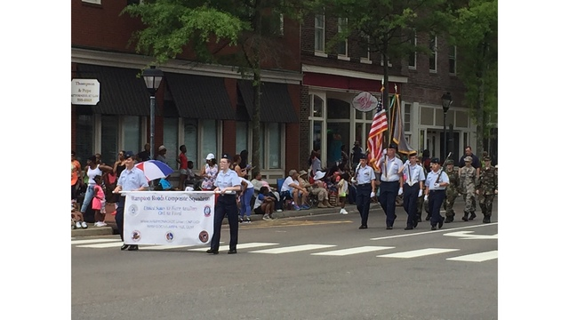 pageantry and patriotism combine at portsmouth s memorial day parade