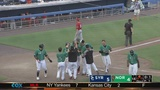 Tides win in extras on inside the park walk-off HR