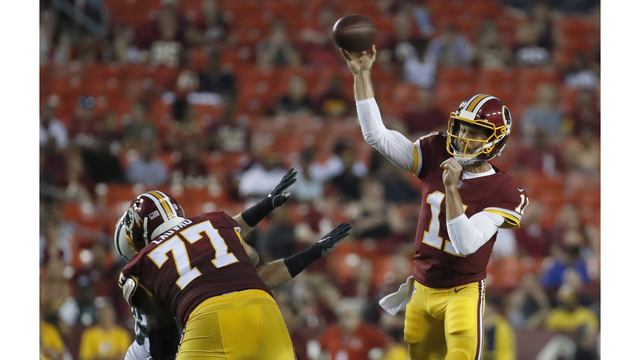 Alex Smith starts in Redskins 15-13 win over Jets 415da33b9