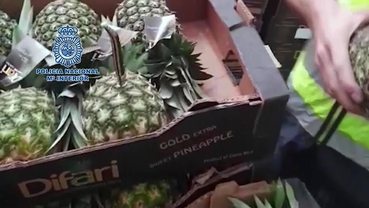 cocaine in pineapples