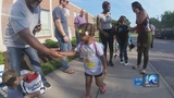 Portsmouth city leaders greet students with encouragement on first day of school