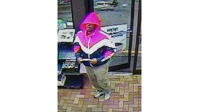Suffolk police looking for armed robbery suspect