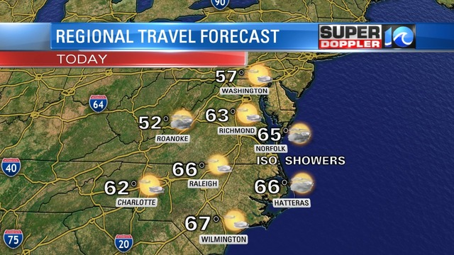 Blog Good Travel Weather Today Temps Slide Soon