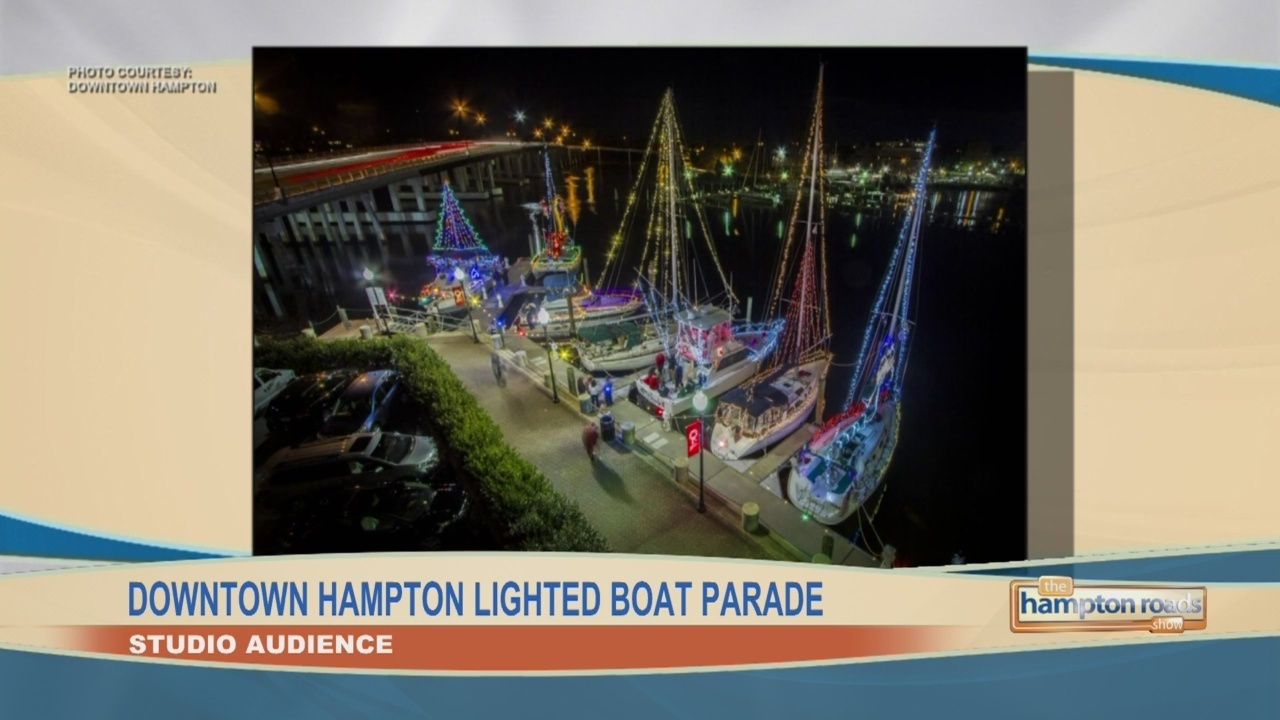 Audience: Downtown Hampton Lighted Boat Parade