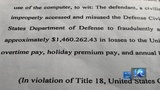 Civilian Air Force employee accused of stealing $1.4 million from U.S. government