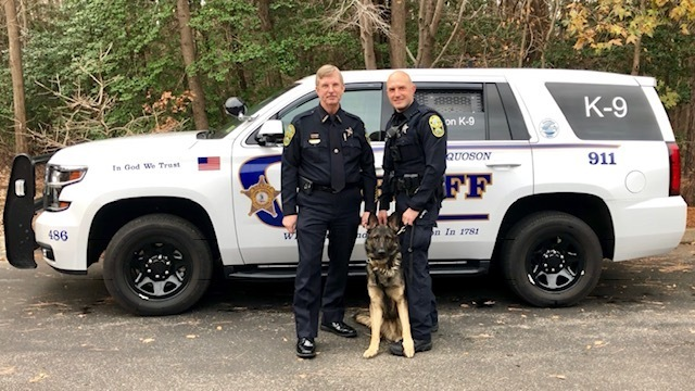 York-Poquoson Sheriff's Office gets first K-9 in over a decade