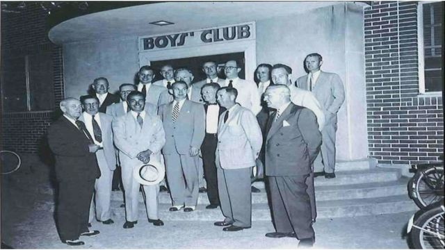 Early days of Boys and Girls Club