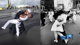 Navy couple who recreated 'Kissing Sailor' photo have close ties to Hampton Roads