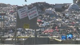 Living near a landfill: What is causing the sudden stench?