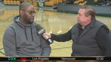 Norfolk State hoops coach Robert Jones talks with Bruce Rader about Spartans' success
