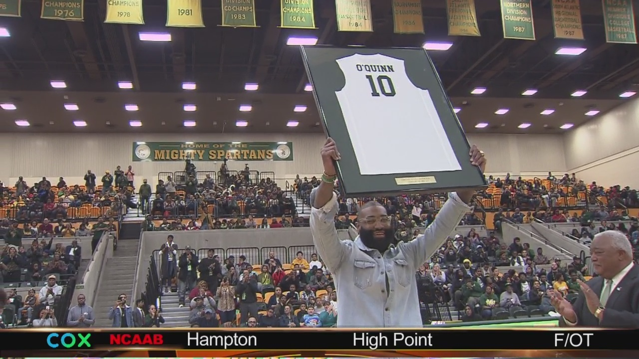 b56d259da3bd35 Norfolk State rallies past NC Central on Kyle O Quinn night