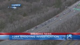 Police investigating shooting on I-264 in Portsmouth