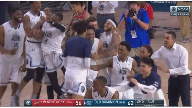 ODU beats Western Kentucky for Conference USA title, punches ticket to NCAA Tournament