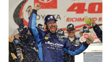 Truex Jr. has his short-track breakthrough in first win at Richmond