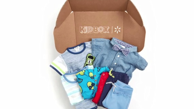 Walmart launches subscription apparel box for kids