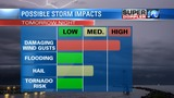 BLOG: Strong Storms possible Friday night