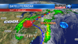 Blog: Storms Leave The Region.  Drying Out Today.
