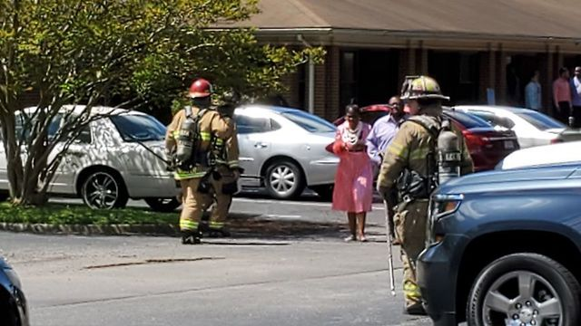 Rescue crews from three cities responded to fire at a retirement home