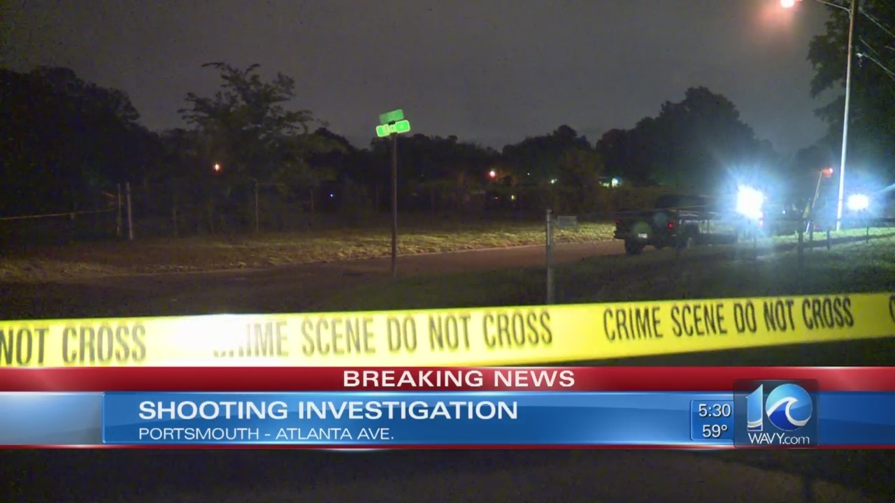 Man dies after shooting on Atlanta Ave  in Portsmouth
